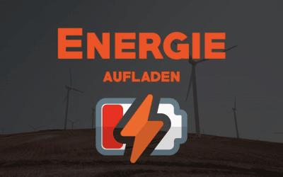 Energie aufladen